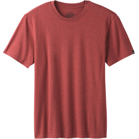 Prana Crew - T-shirt manches courtes Homme - rouge
